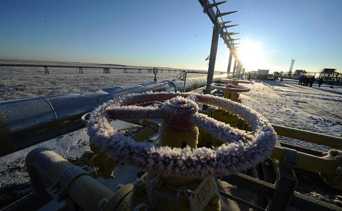 Заснеженный Крым не хочет отдавать газ Украине