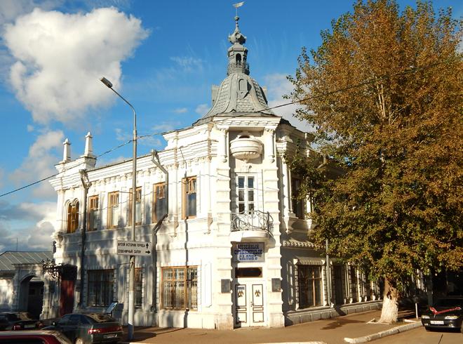 Дом купца Мельникова