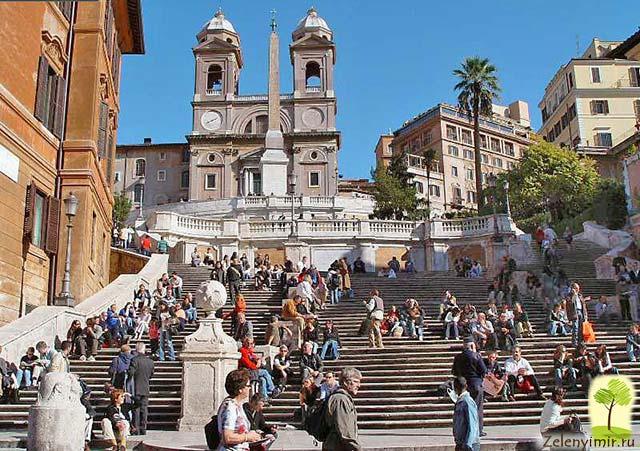 Испанская лестница в Риме - 138 ступеней восторга - 2