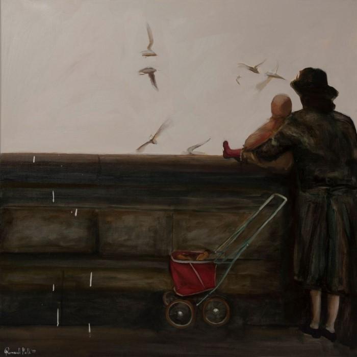 Польский художник. Romuald Mulk Musiolik