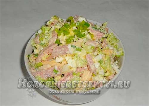 Вкусный салат с пекинской ка…