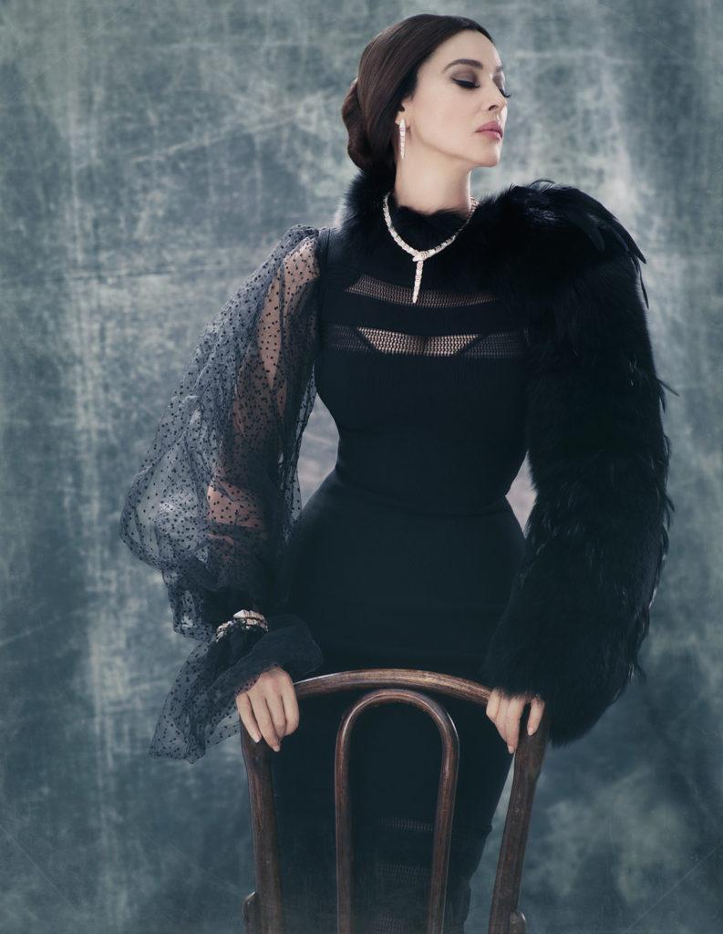 Великолепная Моника Беллуччи в новой фотосессии