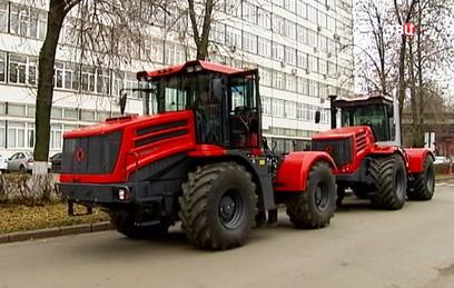 """Новый российский трактор """"Кирюша"""" представят на выставке в Ганновере"""