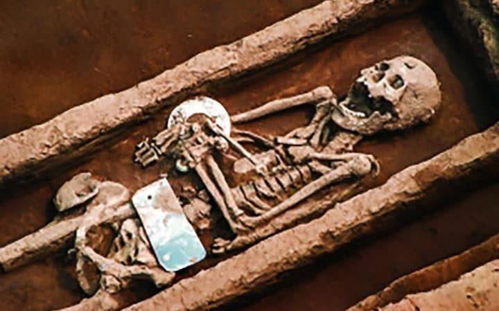Кладбище древних великанов нашли в Китае
