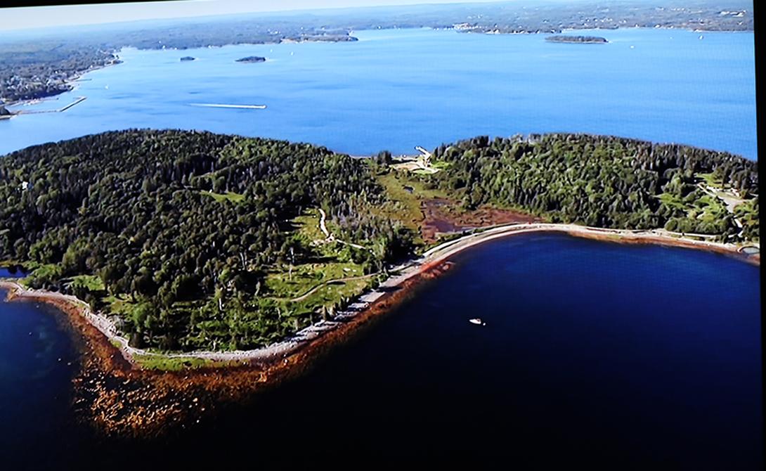 Таинственный остров Оук