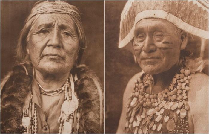 Фотографии индейского племени долины Хупа на северо-западе штата Калифорния