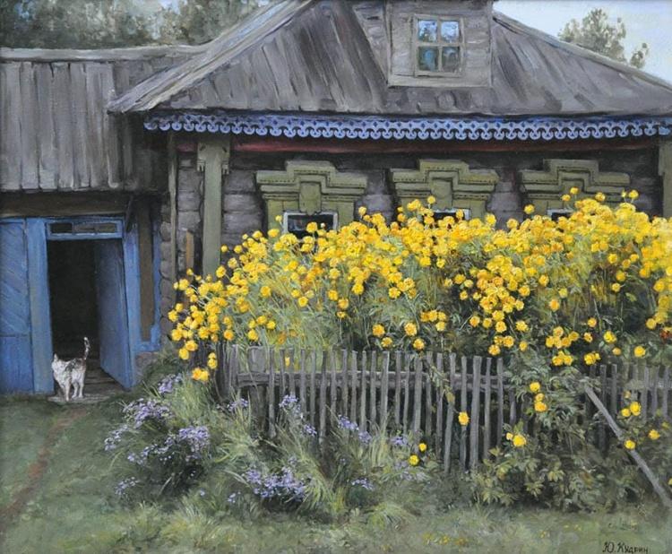 художник Юрий Кудрин картины – 22