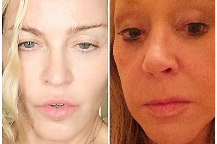 Мадонна или Примадонна: Алла Пугачева и Луиза Чикконе наперебой делятся с фанатами фото без макияжа