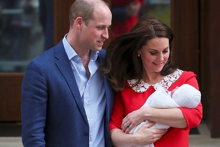 Принц Уильям пошутил о «сильном имени» своего новорожденного сына