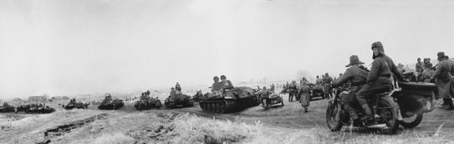 Сталинградский реванш советских мотоциклистов за сорок первый год