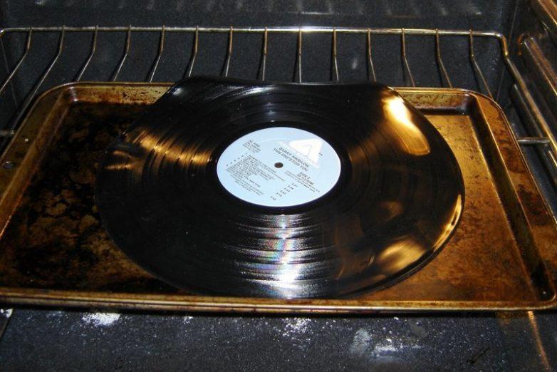 Как можно использовать старые грампластинки