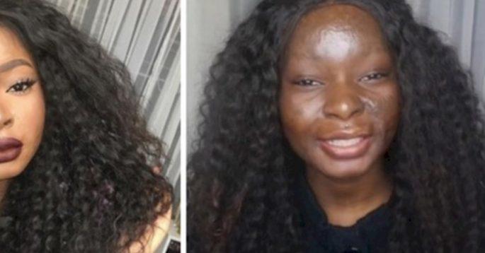 В детстве она получила жуткие ожоги, но с помощью макияжа научилась преображать себя