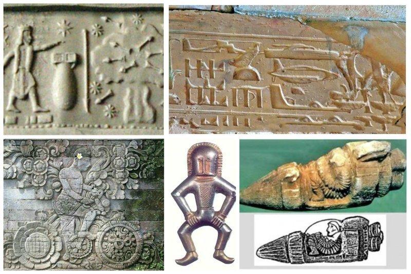 Доказательство того, что наши предки видели НЛО и предвидели будущее
