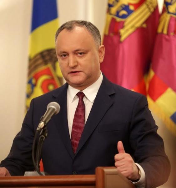 Президент Молдавии назвал дату объединения сПриднестровьем