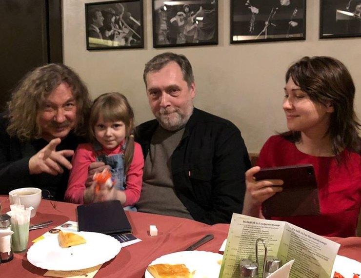 Игорь Николаев показал внучку Владимира Высоцкого