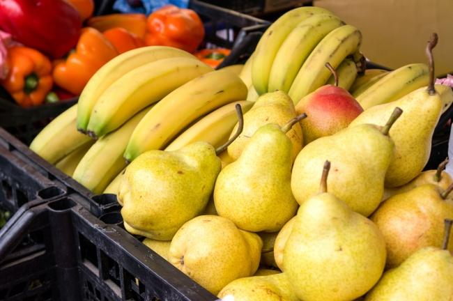 Некоторые овощи и фрукты не храним рядом