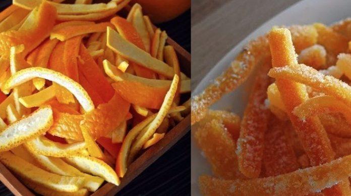 Апельсиновые цукаты: полезны…