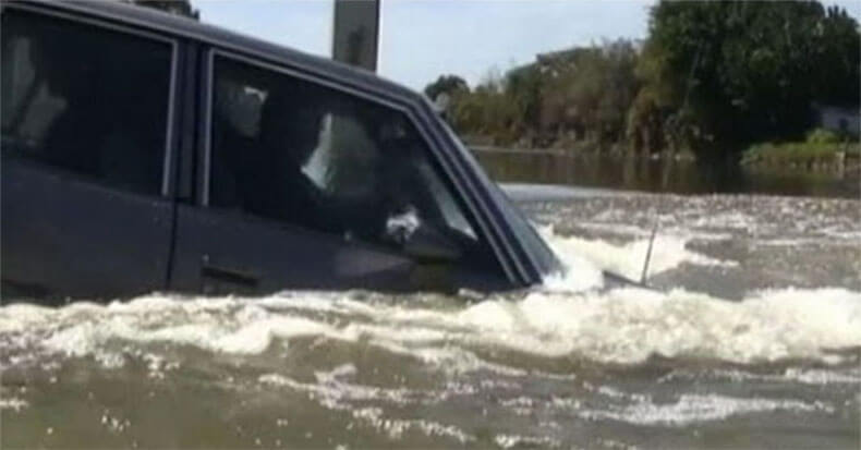 Вот что нужно сделать, чтобы выжить, если вы тонете в автомобиле