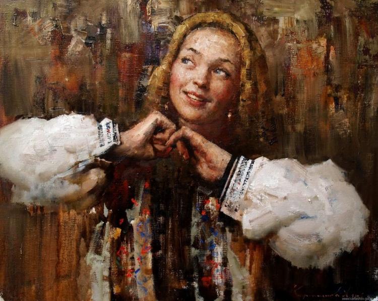 Художник Андрей Карташов. Мастер современного портрета