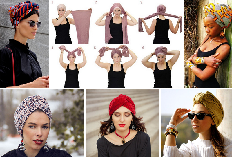 Как сделать платок на шапку 408