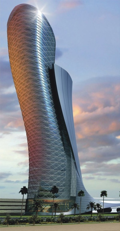 Capital Gate in Abu Dhabi, United Arab Emirates