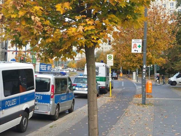Ограбление по-берлински: бандиты напали на инкассаторов, но потеряли деньги