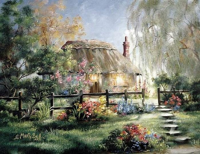 Сказочно красивые и уютные домики от  Марти Белл