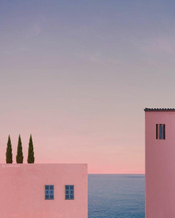 Бесконечность лета в минималистских фотографиях