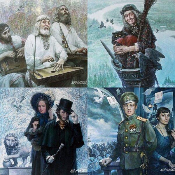Алтайский живописец Емельянов Александр Евгеньевич