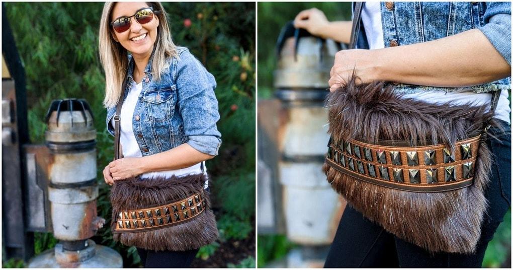 Стильная, очень красивая сумка для настоящих модниц