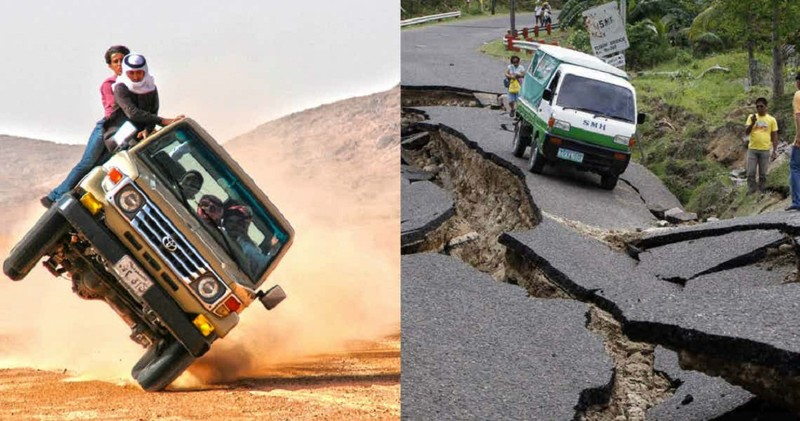 Страны с кошмарным дорожным движением