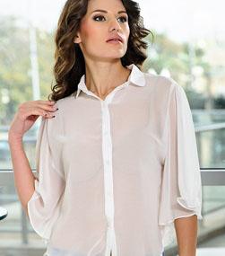 Блузка Без Бюстгальтера