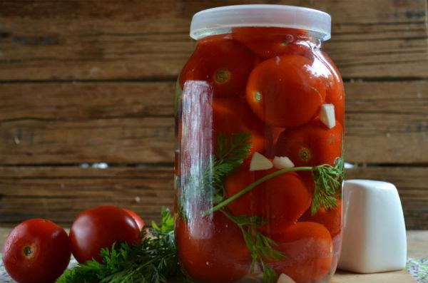 Рецепт засолки помидор в лит…