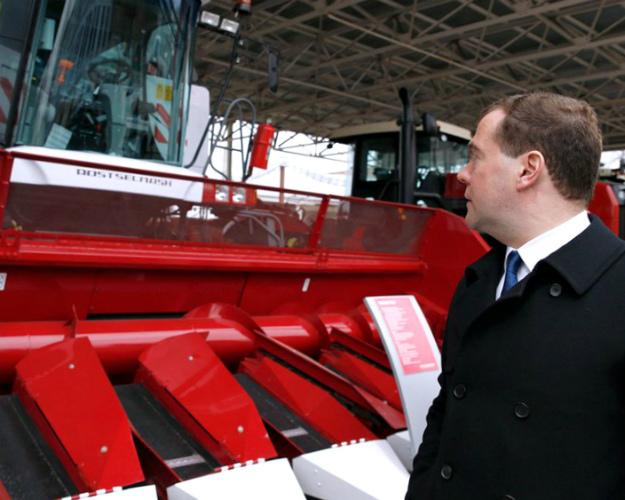 Доля продукции отечественного сельхозмашиностроения на рынке РФ превысила 50%