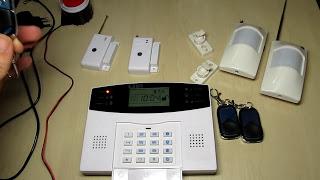 Автономная GSM сигнализация в гараж