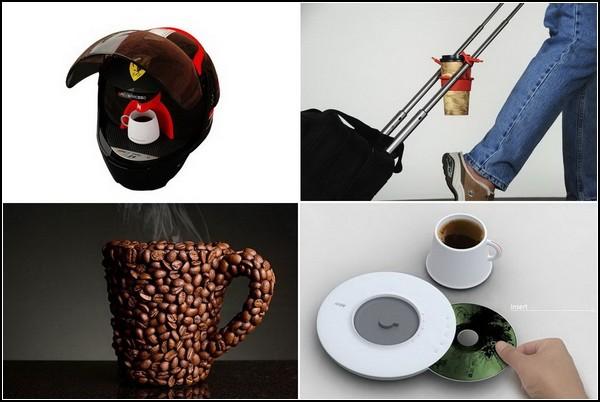 Обзор необычных гаджетов для любителей кофе