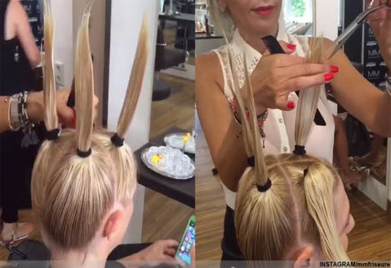 Картинки по запросу This Gravity Defying Haircutting Technique Will Give You The Best Hair Of Your Life