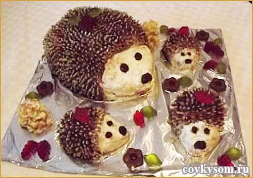 Милый тортик для детского праздника