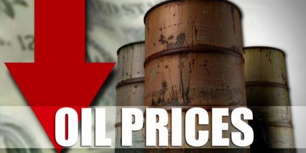 Цены нанефть снижаются дополугодовых минимумов