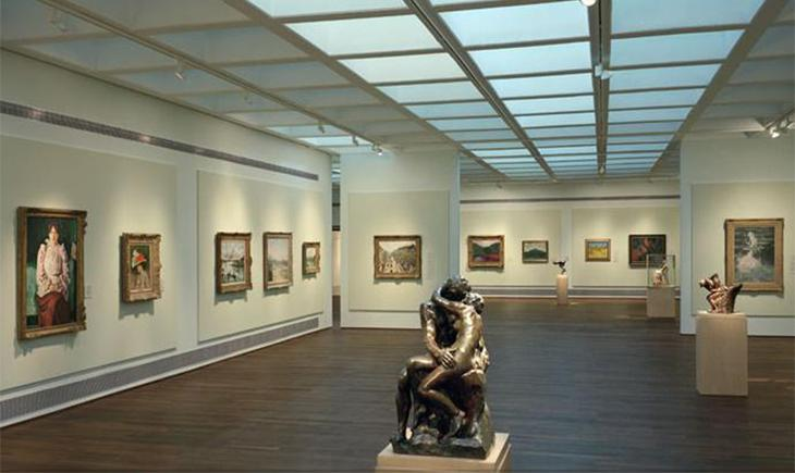 Картинная галерея в Музее Израиля