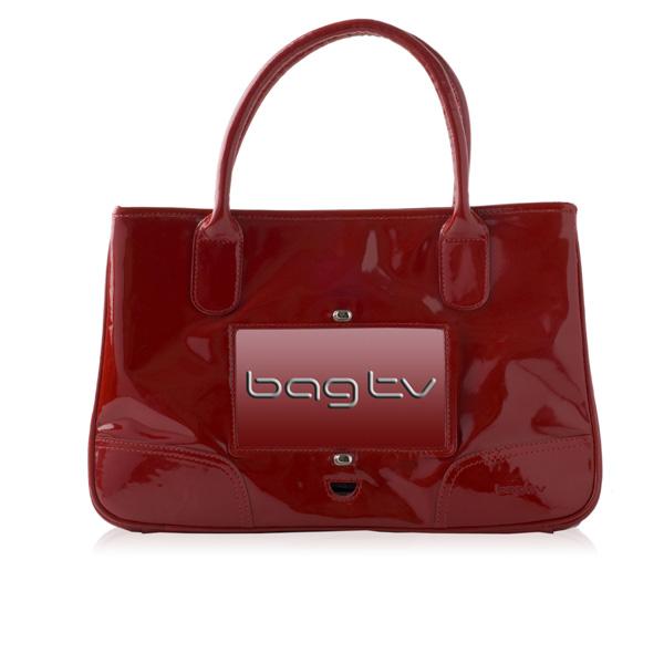 Дамская сумочка BagTV оборудована телевизором