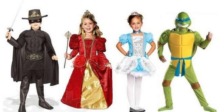 Какие карнавальные костюмы популярны в детском саду