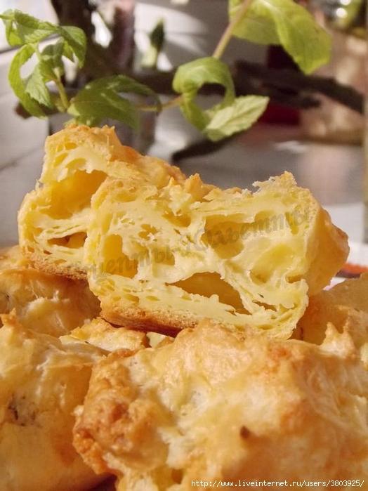 Ароматные заварные сырные бу…