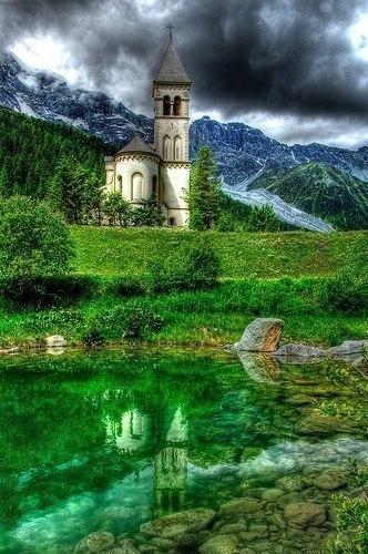 Красота альпийских гор
