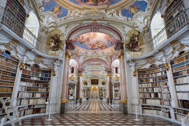 Библиотека аббатства Адмонт