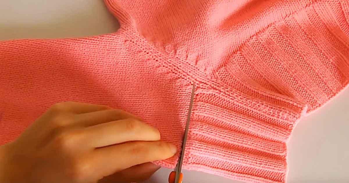 5 причин не выбрасывать старый свитер