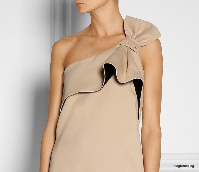Выкройка топа на одно плечо: моделирование базовой конструкции платья