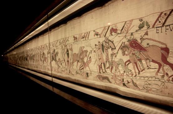 Гобелен из Байё: иллюстрации к норманскому завоеванию