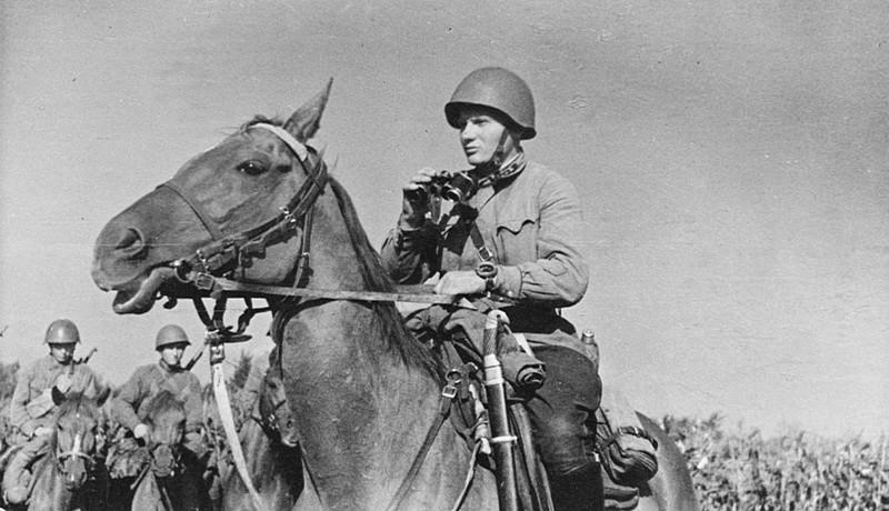 Советская кавалерия в годы Великой Отечественной войны СССР, война, история