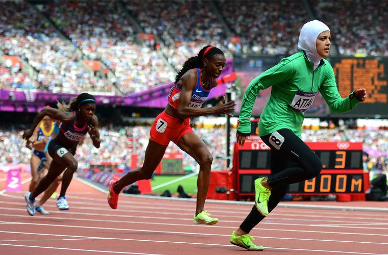 Участие в открытых спортивных мероприятиях в мире, женщина, закон, запрет, люди, саудовская аравия